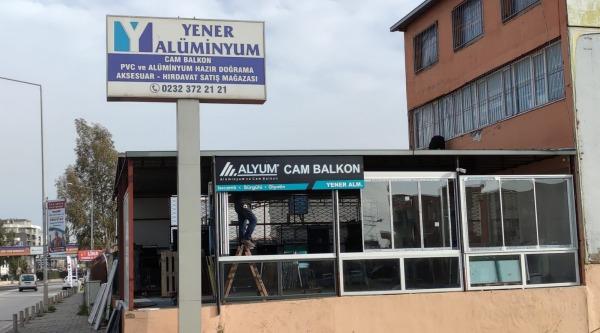 İzmir / Yener Alüminyum ve Isıcamlı Cam Balkon