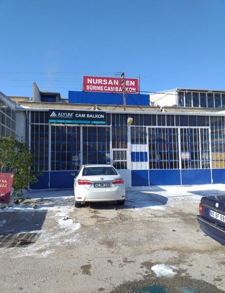 Kırşehir / Nursan cam balkon
